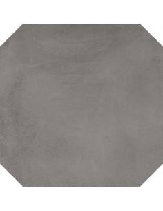 Porcelánico LAVERTON Octógono Colton Grafito 20x20cm de VIVES
