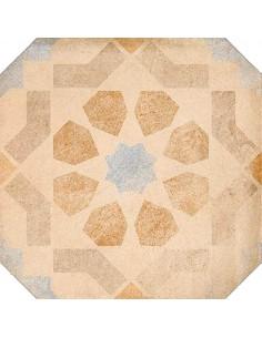 Porcelánico LAVERTON Octógono Turgis Multicolor 20x20cm de VIVES