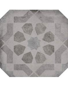 Porcelánico LAVERTON Octógono Turgis Sombra 20x20cm de VIVES