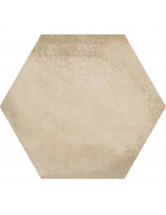 Porcelánico LAVERTON Hexágono Bampton Beige 23x26.6cm de VIVES