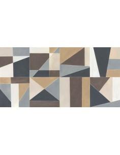 Azulejo COLORPLAY Decoro Tiles Cream de MARAZZI