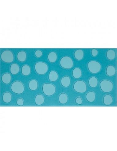 Azulejo AGATHA Lunares Turquesa 25x50cm de PAMESA