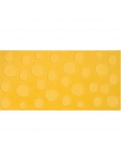 Azulejo AGATHA Lunares Amarillo 25x50cm de PAMESA
