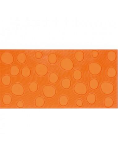 Azulejo AGATHA Lunares Naranja 25x50cm de PAMESA