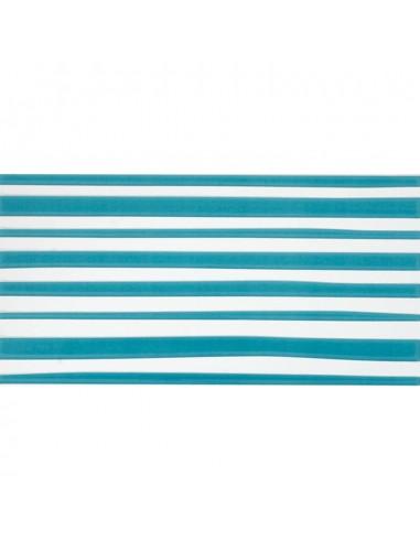 Azulejo AGATHA 1-Lineas Turquesa 25x50cm de PAMESA