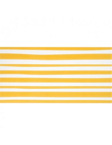 Azulejo AGATHA 1-Lineas Amarillo 25x50cm de PAMESA