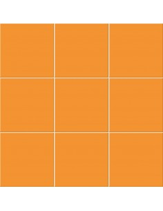 Azulejo CHROMA Arancio...