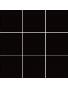 Azulejo CHROMA Negro brillo...