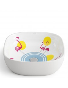 Lavabo PINK FLAMINGOS by...